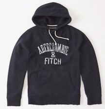 BNWT Abercrombie & Fitch Mens Fleece Pullover Hoodie Hoodie, Small RRP £74
