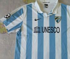 Camiseta Trikot Shirt MALAGA CF Nike UNESCO Season 2012 Size XXL Champions L