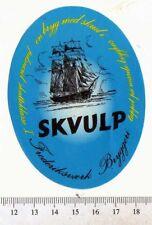 Danish Beer Label - Frederiksvaerk Brewery - Denmark - Skvulp