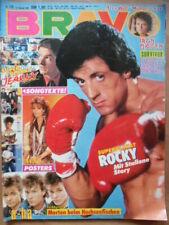 BRAVO 10- 1986 (1) Rocky Sylvester Stallone a-ha AC/DC Iron Maiden Hendrik Martz