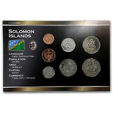 1988-2010 Solomon Islands 1 Cent-1 Dollar Coin Set Unc - SKU #87161