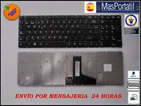TECLADO ESPAÑOL PORTATIL TOSHIBA SATELLITE P50-B  P50T-B  CON ILUMINACION  TEC24