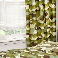 Camouflage 168cmx183cm Doublure rideaux neuf armée militaire Chambre à coucher