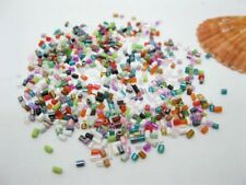 2x1Packs Bugles Glass Tube Beads Mixed Color