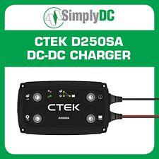 NEW CTEK D250SA Dc-dc Charger 12v Solar Camper Caravan Boat 4wd Dual Battery