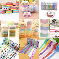10M DIY Glitter Washi Tape Book Decor Scrapbooking Adhesive Paper Sticker Craft