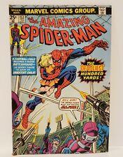 THE AMAZING SPIDER-MAN DEADLIEST 100 YARDS MARVEL COMICS 1976 BRONZE AGE #153