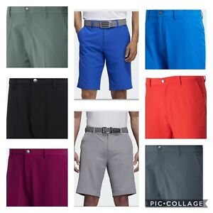 New Men's Adidas Ultimate 365  Golf Shorts-solid- Pick Size/Color- Closeout $65