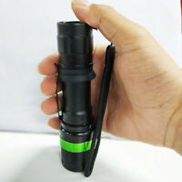 Camping Zoomable Hiking Flashlight E17 XM-L  Waterproof Torch 500 Lumen LED