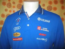 Ancien POLO COLMAR EQUIPE DE FRANCE DE SKI T6 FFS AUDI ESF Jersey Shirt Chemise