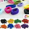 Hair Mini Bobble Ponytail Ties Band Scrunchies Candy Styling Elastic Snag Free
