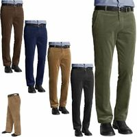 MENS CORDUROY CORD TROUSERS COTTON FORMAL SMART CASUAL BIG PLUS SIZE PANTS 30-50