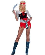 New Medium Women's Sexy Pirate Halloween Costume