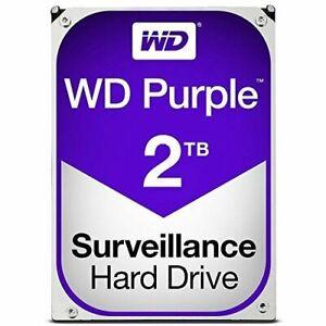 """Western Digital WD20PURZ Purple Surveillance 2TB SATA 3  3.5"""" Hard Drive"""