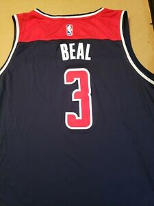 Bradley Beal Washington Wizards AUTHENTIC NBA FANATICS JERSEY ADULT 2XL