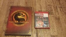 Mortal Kombat  9 ps3 Collector's Edition Hardback Strategy Guide