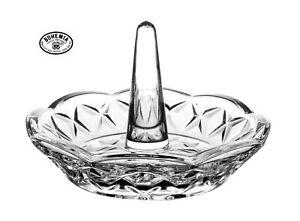 Bohemia Crystal Ring Holder 9.5cm  24% full lead crystal 14100.095 0.2k