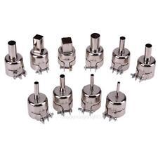 10X Heat Gun Nozzle Solder Power Tool Kit Set for 850 Hot Air Soldering Station