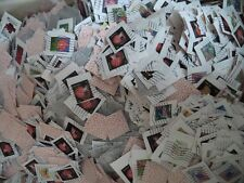 1 pound US Postage Stamps On paper Common Decoupage Crafts Collecting FLAGS OFF