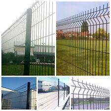 2.4m High Eco Profile V Mesh  Fencing  Perimeter Security Fencing