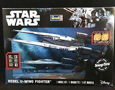 Disney Revell 85-1637 Star Wars Rogue One REBEL U-WING FIGHTER Snap Model Kit