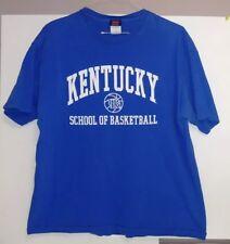 University Of Kentucky School Of Basketball T-Shirt Size XL Kentucky Wildcats