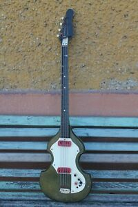 Vintage Old Electric Bass Guitar .