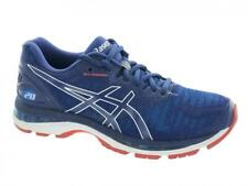 Men's Asics GEL-Nimbus 20 Running Shoes Blue Print Race Blue Red Size 8