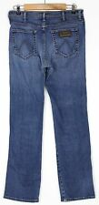 "WRANGLERS MENS BLUE JEANS W34"" L32.5"""