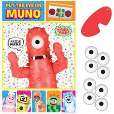 YO GABBA GABBA PARTY GAME POSTER ~ Birthday Supplies Decorations Activity Muno
