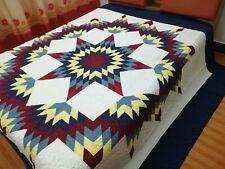 King Size Star Patchwork Quilt #J-150