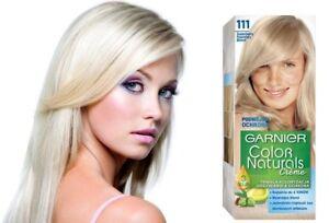 Garnier Color Naturals Creme Permanent  Color Cream 111 Ashy Very Light Blond