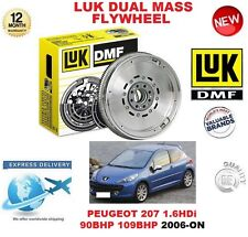 Pour Peugeot 207 1.6 HDI 90BHP 109BHP 2006-ON Original LUK Dmf Dual Masse Volant