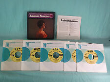 "Lainie Kazan, MGM Celebrity Series, MGM CS 1-5, PROMO, Five 7"" 45 RPM Box Set"