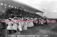 CH 958 - Coronation Day, Bebington Oval, Cheshire 22.6.1911 - 6x4 Photo
