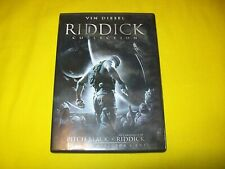 Riddick Collection Dvd Pitch Black The Chronicles Dark Fury