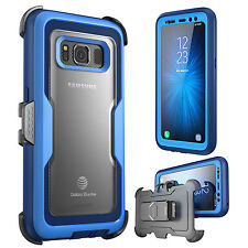 For Samsung Galaxy S8 Active, Official i-Blason Case Cover + Screen Protector US