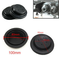2X Housing Seal Dust Caps For HID LED Headlight Kit Aftermarket - Rubber Cover