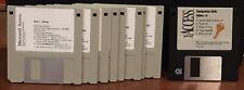 "Vintage 1994 Microsoft Office Access 2.0 Software 3.5"" Floppy Disk Set"