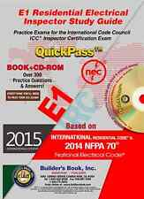 E1 Residential Electrical Inspector QuickPass Study Guide Based on 2015 IRC