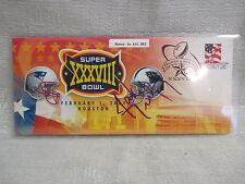 Jake Delhomme Signed Carolina Panthers Super Bowl XXXVIII Patriots Cachet JSA