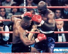 Mike Tyson Holyfield Action Boxing 10x8 Photo