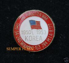 KOREA WAR 54246 KIA HAT LAPEL PIN UP US ARMY MARINES NAVY AIR FORCE VETERAN GIFT