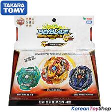 Beyblade Burst B-149 G Triple Booster Set Takara Tomy Original & Authentic 100%