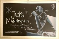 """RARE 2006 Jack's Mannequin Everything in Transit 11"""" x 17""""  PROMO POSTER VG COND"""