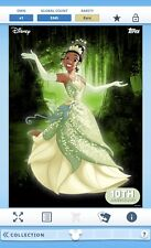 Digital Topps Disney Collect Trader Tiana Rare Princess + Frog Characters Card!