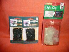1) Light Clip 36 ct For all Miniature Light Sets (2) E-Z Clip Christmas Elegance
