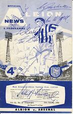 Signed Programmes