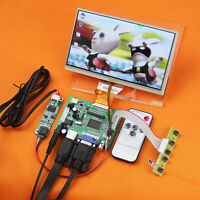 """For Raspberry Pi 7"""" inch TFT Monitor+HDMI Control Driver Board+Touch Screen"""