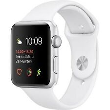 Relojes inteligentes Apple de plata